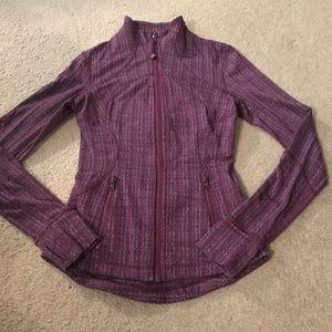 Lululemon Purple Patterned Define Jacket